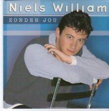 (BC328) Niels William, Zonder Jou - 1996 CD