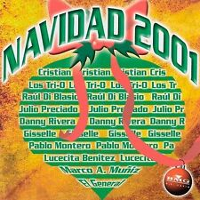 Navidad 2001 CD Christmas Los Tri O Raul Di Blasio Gisselle El General SEALED