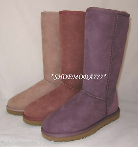 UGG Classic Tall Suede Sheepskin Boots New 5-11 UK 3.5 4.5 5.5 6.5 7.5 8.5 9.5