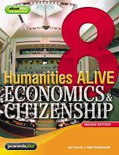 Humanities Alive Economics & Citizenship 8 & eBookPLUS, Like new, Free shipping