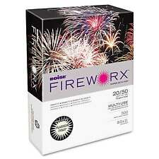 Boise Fireworx Color Copy Paper Flashing Ivory 2 pk x 500 = 1000 Total Sheets