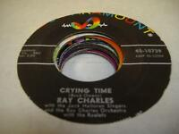 Soul 45 RAY CHARLES Crying Time on ABC - Paramount