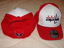 Washington Capitals New Era Hat Cap 39Thirty S/M Deboss