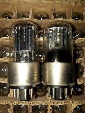 2 x MELZ 6N8S 6SN7 Metal Base Tubes
