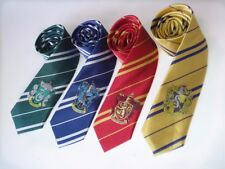 Harry Potter Tie - Slytherin Huffelpuff Logo Silk RED AND BLUE TIE SOLD OUT