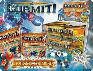 Gormiti - Morphogenesis - 12 Figuren, Display, NEU OVP