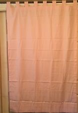 JCPENNEY* W82 X L63 (BABY PINK) TAB TOP PAIR CURTAINS/WINDOW TREATMENT(2)PANELS