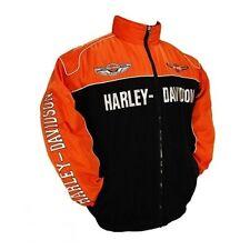 Blouson Harley Davidson Taille XL Brodée Devant & Dos