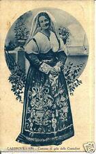 cl 14 1932 CASTROVILLARI (Cosenza) Costume di gala delle Contadine - viagg - FP