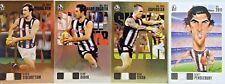 2011 HERALD SUN DIDAK PENDLEBURY SWAN & SIDEBOTTOM COLLINGWOOD FOOTBALL CARD SET
