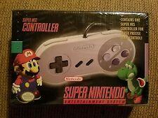 OEM Original Super Nintendo SNES Controller Sealed - New In Box SNS-102