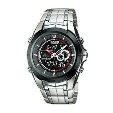 "Casio EFA119BK-1AV Men's ""Ana-Digi Edifice"" Stainless Steel Watch"