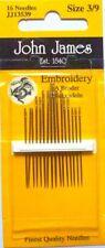 John James English Sewing Needles