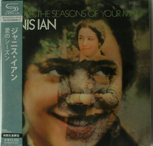 JANIS IAN /FOR ALL THE SEASONS OF YOUR MIND JAPAN MINI LP SHM CD SEAL