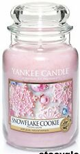 Yankee Candle Large Jar - Snowflake Cookie Fragrance lasting for 110-150 hours
