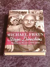 Michael Frayn - Stage Directions: Writing on Theatre 1970-2008 HC/DJ playwright