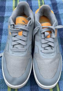 puma trainers Sizs 6.5 Uk Blue / Orange  Running Shoes Vgc