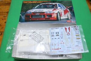1/24 Hasegawa Mitsubishi Lancer GSR Evolution III 1996 Catalunya Rally