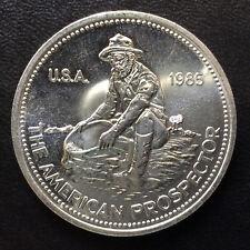 1985 Engelhard American Prospector Silver Medal Round A4302