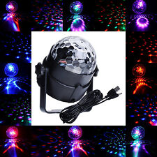 Car Music Rhythm Sound Activated Disco DJ Flash Light RGB LED Magic Ball Lamp