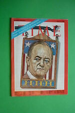 TIME rivista magazine MAY 3 1968 HUMPHREY'S CHANCES FOR THE NOMINATION