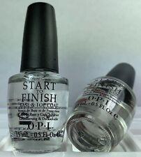 Opi Treatment - Start To Finish - Base Top Coat Lacquer - Nail Polish