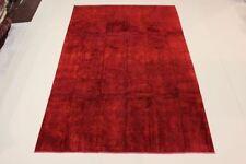 Tapis rouge persans pour la maison en 100% laine