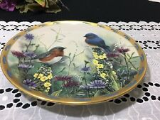 """Lenox - Catherine McClung - """"Summer Interlude"""" Collectors Plate 8"""""""