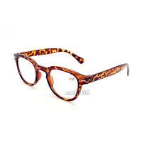 Retro Round Resin Reading Glasses Full Frame +1.0 +1.5 +2.0 +2.5 +3.0 +3.5 +4