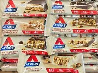 ATKINS MEAL BAR ~ Free Shipping ~ Chocolate, Peanut Butter, Assorted YOU PICK