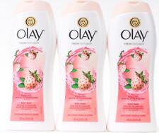 3 Olay Fresh Outlast Cooling White Strawberry & Mint Fresh Skin Body Wash 23.6oz