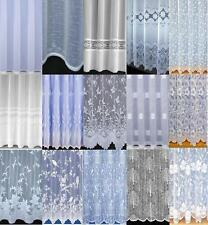 CHEAP NET CURTAINS SLOT TOP Many Designs Sold by the Meter Special Drops
