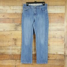 Riders Comfort Waistband Jeans Womens Size 12 Blue Denim TA8
