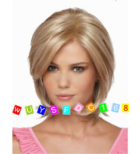 New sexy ladies short Blonde Mixed Natural Hair wigs + Wig cap