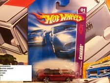 HOT WHEELS 2007 #41 -180-1 69 CAMARO CONVERTIBLE RED PR5 AMER
