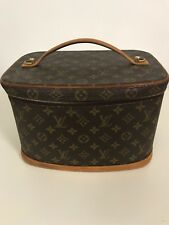 Louis Vuitton Monogram NICE COSMETICS BAG VINTAGE CONDITION GOOD