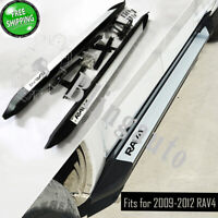 Running board fits for Toyota RAV4 2009-2012 side step nerf bars car pedals