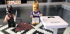 #NEW# 2 LEGO Exclusive Minifigures: BATMAN TARTAN & DISCO BATMAN (with capes)