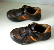 Smart Fit Toddles Brown Orange Sneakers Shoes Child's Size 8