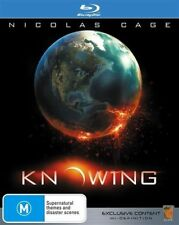 Knowing STEELBOOK (Blu-ray 2009) Nicolas Cage, Rose Byrne **RARE AUS VERSION OOP