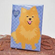 Pomeranian Dog Heavy Duty Art Magnet - Free Shipping ASAP - Pom