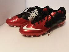 Nike Vapor Speed Low Td Football Cleats Mens 15 Game Red Black 643152 610 New