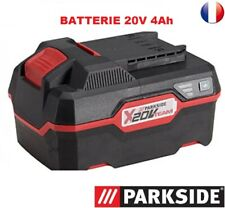 batterie Lithium-ions 20 V  CAPACITE 4 Ah Parkside série X20TEAM