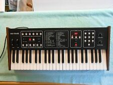 Vintage Sequential Circuits Six Trak Analog Synthesizer w/ Manual & Original Box