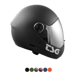 TSG - Pass pro and Pass Helmets + Bonus Visor Fogging-Blocker with Hard Shell
