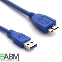 5m Faster Micro USB 3.0 Cable Lead For WD My Passport External Hard Drive HDD
