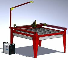 Plans for Diy CNC plasma table 1250 x 1250 mm with water tray