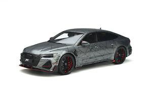 Audi ABT RS 7-R Sportback 2020 Grey GT293 1/18 GT Spirit Pré-Order Juillet 2021