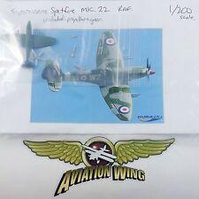 1/200 Supermarine Spitfire Mk. XXII - Scale Resin Model Aircraft Kit