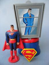 SUPERMAN THE ANIMATED SERIES FIGURA CON CABINA BURGER KING 1997